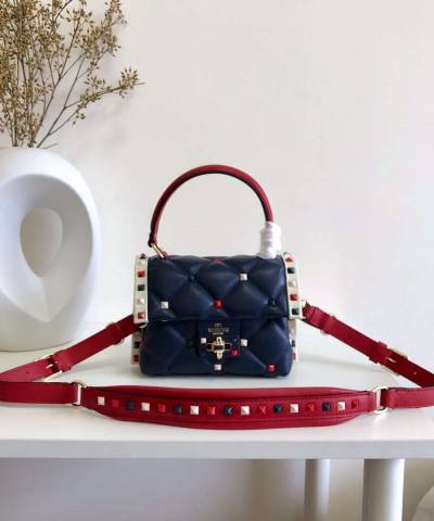 Сумка Valentino Mini Multicolour Candystud Top Handle Bag